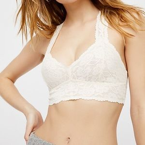 Free People Galloon Lace Racerback Bralette